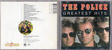 CD 14T THE POLICE (STING) GREATEST HITS 1996 ROXANNE/MESSAGE IN A BOTTLE