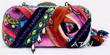 NWT MARY FRANCES IN THE MIX JEWELED & BEADED BAG W/ DETACHABLE STRAP 12-488