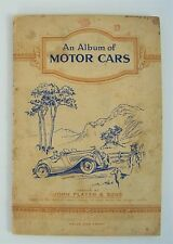An Album of Motor Cars John Player Imperial Tobacco Cards 3 Missing