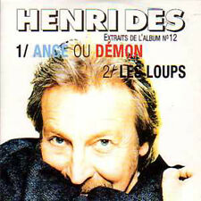 CD single Henri Dès Ange ou demon Promo 2 Tracks CARD SLEEVE Eurovision Star !