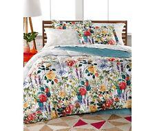Leslie Floral Reversible 8 Piece Bedding Ensembles Queen Size Bed Set New!