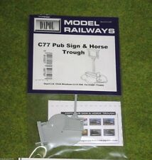 Dapol PUB SIGN AND TROUGH 1/76 C77 Scale scenery Kit 00/HO