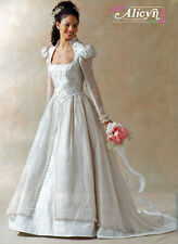 OOP McCalls 4713 Wedding Bridal Gown Medieval Dress Cosplay Costume Prom BB 8-14