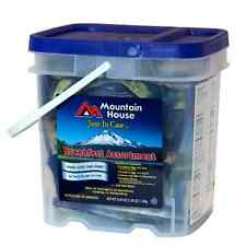 MOUNTAIN HOUSE JUST IN CASE BREAKFAST BUCKET Storage Food Survival MRE Dried