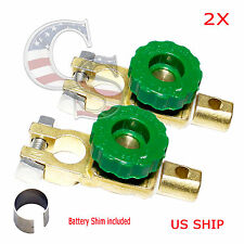 2X Car Boat Battery Terminal Quick Cut On Off Disconnect Master Kill Switch