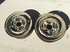 Mercedes Benz Two 1954 Wheels 4-1/2 X 13 220A Ponton