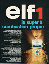 PUBLICITE ADVERTISING 035  1967  ELF 1  super carburant