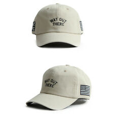 Unisex Mens Womens Way Out There UK USA Baseball Cap Adjustable Trucker Hats