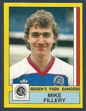 PANINI FOOTBALL 87-#257-QUEENS PARK RANGERS-CHELSEA-MIKE FILLERY