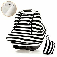 Stretchy Baby Car Seat Covers For Boys Girls,Winter Infant Car Canopy,Snug Warm