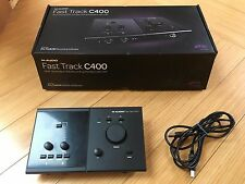 Avid M-Audio Fast Track C400 / Next Generation USB Recording Interface with DSP