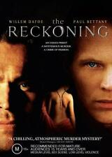 THE RECKONING - WILLEM DAFOE PAUL BETTANY CRIME THRILLER NEW DVD MOVIE SEALED
