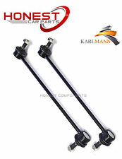 For FORD FIESTA FUSION 1.25 1.4 1.6TDCI FRONT STABILISER ANTI ROLL LINK BARS X2