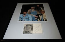 Denver Pyle Signed Framed 16x20 Photo Display Dukes of Hazzard Uncle Jesse D