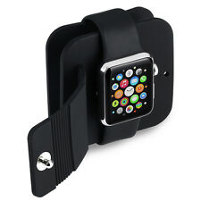 For Apple Watch Case Cover TPU Travel Mini Protect Box Holder Stand Dock Snop On