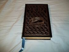 EASTON PRESS - Moby Dick or The Whale by Herman Melville - FULL LEATHER HC 1977