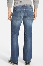 New Men's DIESEL JEANS Mid Rise Zatiny Micro Bootcut Jeans 0844U