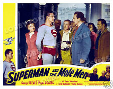 SUPERMAN AND THE MOLE MEN LOBBY SCENE CARD # 7 POSTER 1951 GEORGE REEVES