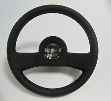 84 85 86 87 88 89 C4 CORVETTE BLACK LEATHER STEERING WHEEL EXACT REPRODUCTION