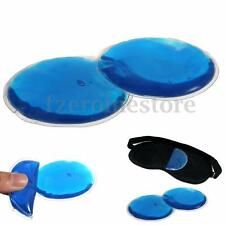 1 Pair Pain Relief Sleeping Relaxing Cooling or Heat Gel Pad for Eye Mask Shade