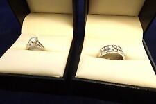 CANADIAN ICE 2.74 Carat Engagement Wedding Bands Set RETAIL $4999.99 EXCELLENT!