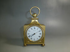 EXC Vintage ANGELUS Swiss Mechanical Wind Up Alarm Clock ( WATCH THE VIDEO )