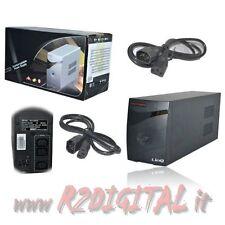 UPS GRUPPO DI CONTINUITA 550VA LED DI CONTROLLO BATTERIA ALTA DURATA PC 550 VA