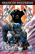 DEATH OF WOLVERINE LOGAN LEGACY #5 OF 7 (2014) SCARCE CANADA VARIANT COVER