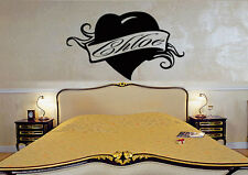 Wall Stickers Vinyl Decal Chloe Personalized Name Lettering Custom  z998