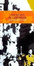 The Spirit of Terrorism, New Revised Edition, Baudrillard, Jean, Acceptable Book