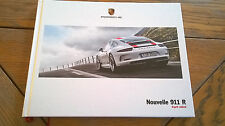 Brochure  PORSCHE 911 R 03/2016 : catalogue rigide A4 68 pages / FR