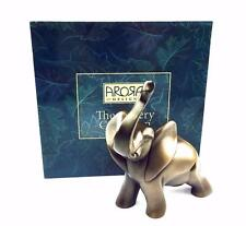 Gallery Collection Cold Cast Bronze Elephant Figure In Gift Box 8224GCES