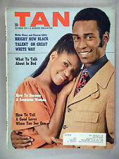Tan Magazine - October, 1970 ~~ Cleavon Little & Melba Moore