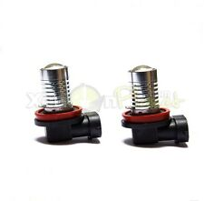 2x H11 5W CREE Q5 LED Front Fog Spot DRL Light Bulbs Xenon White 6000K