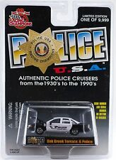 Racing Champions Police USA 92 Chevy Caprice Oak Brook Terrace IL #104 MOC 1999