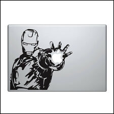Iron Man Decal per Macbook Pro Adesivo In Vinile portatile 2 3 air divertente