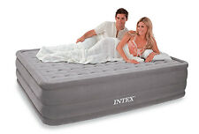 Queen Air Bed Mattress Camping Ultra Plush Puncture Resistant Air Mattress Bed