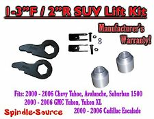 "2000 - 06 Chevrolet GMC 1500 1-3"" / 2"" Torsion Key Lift Chevy 00-06 Spacer + EXT"