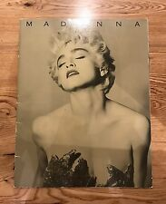MADONNA WHO'S THST GIRL TOUR PROGRAMME / 1987 / NEAR MINT / CONCERT / TRUE BLUE