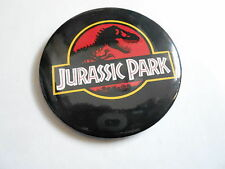 "VINTAGE 2 1/2"" PINBACK BUTTON #103-017- MOVIE - JURRASSIC PARK"