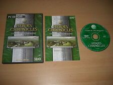 Heroes chronicles-clash of the dragons pc cd rom envoi rapide