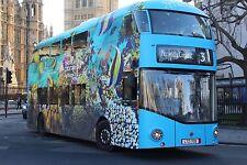 New bus for London - Borismaster LT705 6x4 Quality Bus Photo