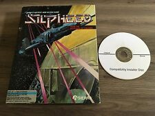 Silpheed w/ Win XP,7,8,10 Easy Install CD (Complete Big Box)