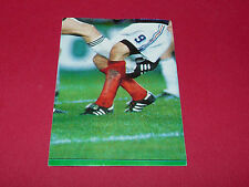 N°5 FRANCE-ALLEMAGNE PANINI FOOT 91 FOOTBALL 1990-1991