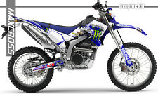 YAMAHA WR250R WR250X ALL YEARS MAXCROSS GRAPHICS KIT DECALS STICKERS FULL KIT-10