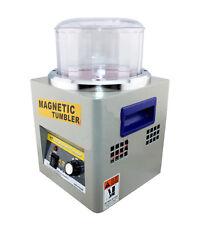 110V KT-185 Magnetic Tumbler Jewelry Polisher Finisher Super Finishing Polishing