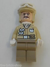 RARE personnage LEGO Star Wars minifig Hoth Rebel Trooper 9509 Advent Calendar