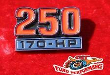 New 2 Piece Ford Falcon Fairmont XA GS Badge 250 2V 170 HP Suit GT XB XY XW ZF