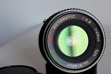 SIRIUS MC 28 MM 1:2.8 WIDE ANGLE LENS PENTAX (A)PKR FIT GOOD CONDITION (USED)