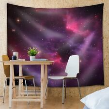 Wall26® - View of Red and Purple Galaxies - Fabric Tapestry, Home Decor - 51x60
